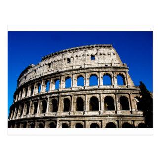 Colosseumローマイタリア ポストカード