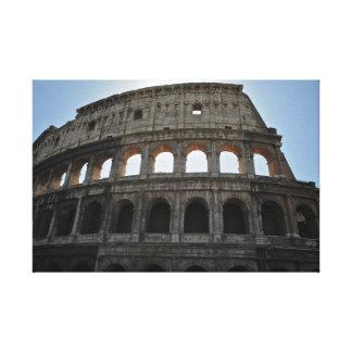 Colosseumローマ キャンバスプリント
