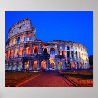 Colosseumローマ ポスター