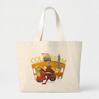 """Colosseum""のバッグのテンプレート ラージトートバッグ"