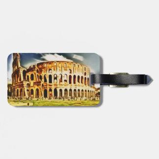 Colosseum、イタリア ラゲッジタグ