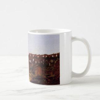 Colosseum、トマスのColeによるローマのインテリア コーヒーマグカップ