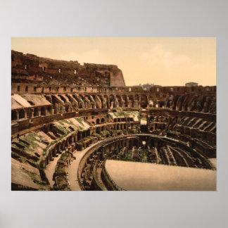 Colosseum、ローマ、イタリアのインテリア ポスター