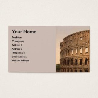 Colosseum、ローマ、イタリアの外面 名刺