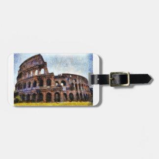 Colosseum、ローマ、イタリア ラゲッジタグ