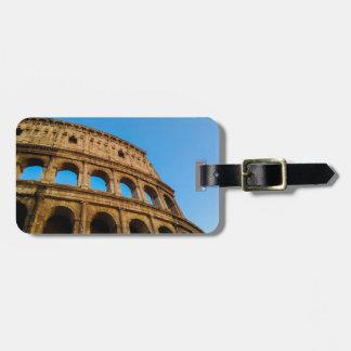 Colosseum、ローマ ラゲッジタグ