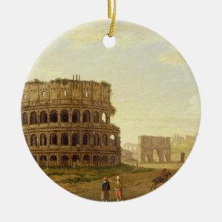 Colosseum 1776年(キャンバスの油) セラミックオーナメント