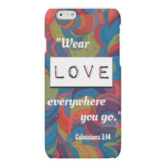 Colossiansの3:14のiPhone6ケース