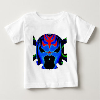 Colourful Skulls gHOSTS Halloween Collection ベビーTシャツ