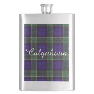 Colquhounの一族の格子縞のスコットランド人のタータンチェック フラスク