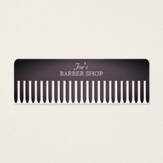 Comb hair salon funny professional cover スキニー名刺