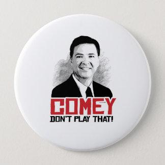 COMEYはそれを遊びません- Comey - - 10.2cm 丸型バッジ