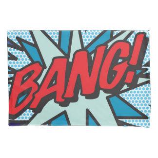 Comic Book Pop Art BANG! POW! double sided 枕カバー