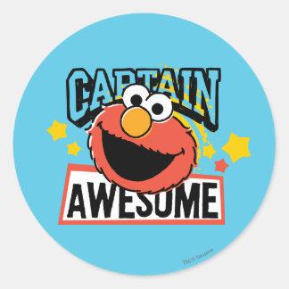Comic Elmoの大尉 ラウンドシール