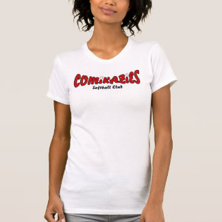 Comikaziesのソフトボール Tシャツ