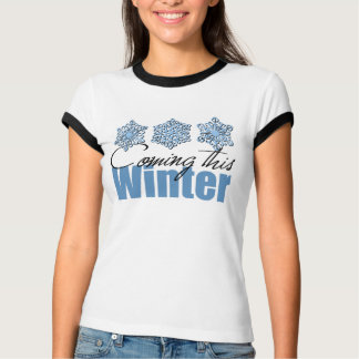 coming_winter tシャツ