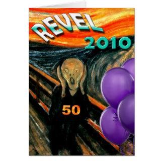 Comisの叫びの第50誕生日 カード