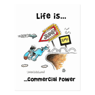 commercial_power ポストカード