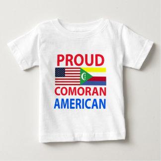 Comoranの誇り高いアメリカ人 ベビーTシャツ
