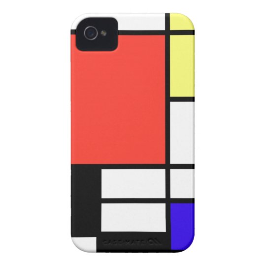 Composition , Mondriaan Case-Mate iPhone 4 ケース