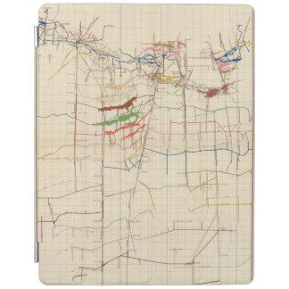 Comstock鉱山地図第VI iPadスマートカバー