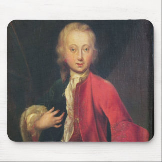 Comteモーリスde Saxeのポートレート マウスパッド
