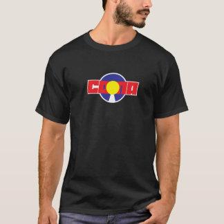 CONA青いC T Tシャツ