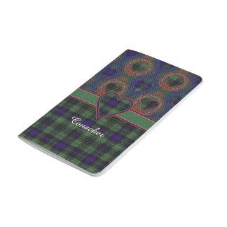 Conacherの一族の格子縞のスコットランドのキルトのタータンチェック ポケットジャーナル