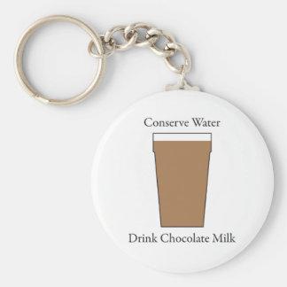Concerve水飲み物のチョコレートミルク キーホルダー