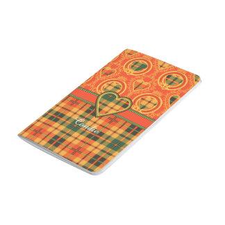 Condieの一族の格子縞のスコットランドのキルトのタータンチェック ポケットジャーナル
