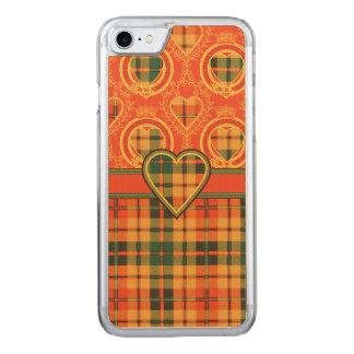 Condieの一族の格子縞のスコットランドのキルトのタータンチェック Carved iPhone 8/7 ケース