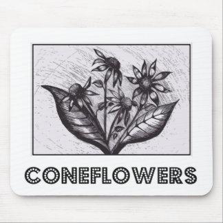 Coneflowers マウスパッド