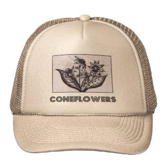 Coneflowers メッシュハット