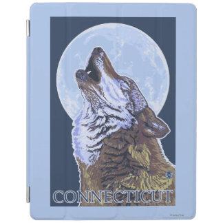 ConnecticutHowlingのオオカミ iPadスマートカバー
