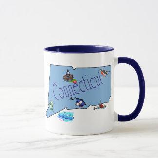 Connecticuttのマグ マグカップ