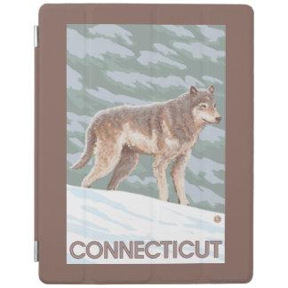 ConnecticutWolf場面 iPadスマートカバー