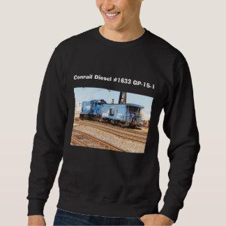 Conrailディーゼル#1633 GP-15-1 スウェットシャツ