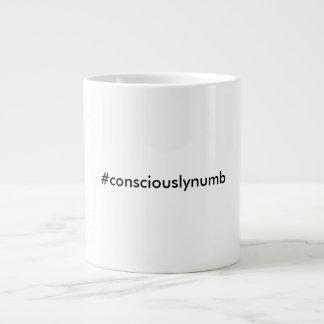 #consciouslynumbのジャンボマグ ジャンボコーヒーマグカップ