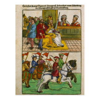 Constanceの議会のSigismund ポストカード