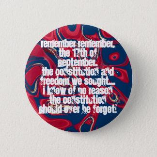 Constitutionist 5.7cm 丸型バッジ
