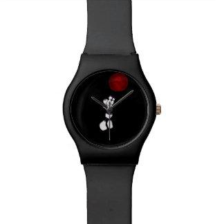 Constructusのロボット腕時計-黒 腕時計