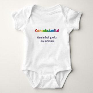 Consubstantial: 私のお母さんとのあることの1つ ベビーボディスーツ