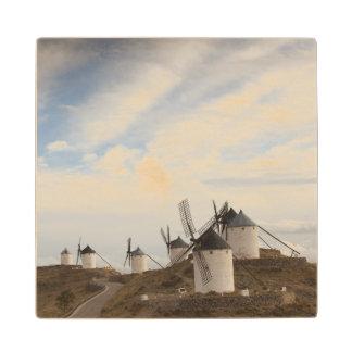 ConsuegraのLaのManchaの旧式な風車 ウッドコースター