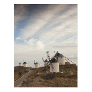 ConsuegraのLaのManchaの旧式な風車 ポストカード
