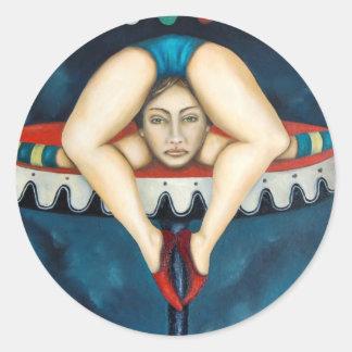 contortionist ラウンドシール