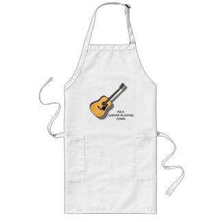 COOK-APRONを遊ぶギター ロングエプロン