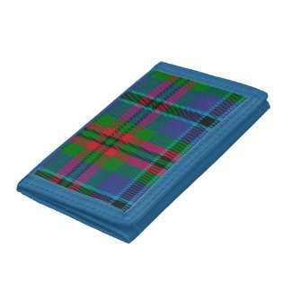 Cookeのタータンチェックの三つ折り財布 ナイロン三つ折りウォレット