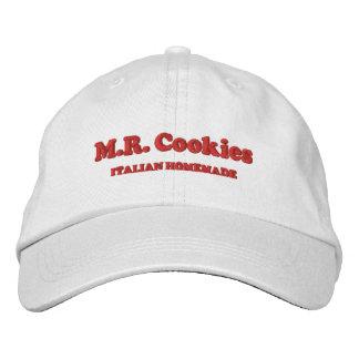 COOKIES氏の帽子 刺繍入りキャップ