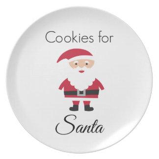 Cookies for Santa Plate プレート