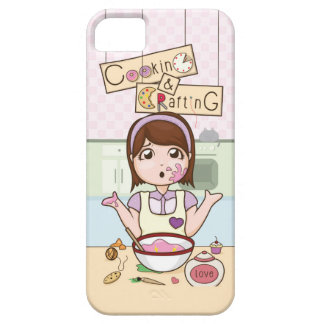 cookingCrafting.jpg iPhone SE/5/5s ケース